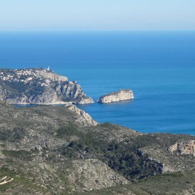 Uitzicht op Granadella