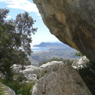Uitzicht vanaf Bernia